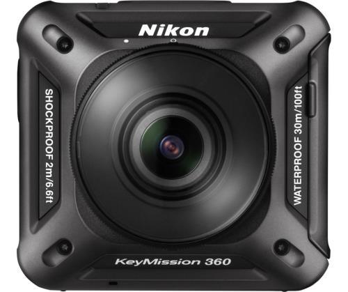 Action Cam Nikon KeyMission 360 Noir