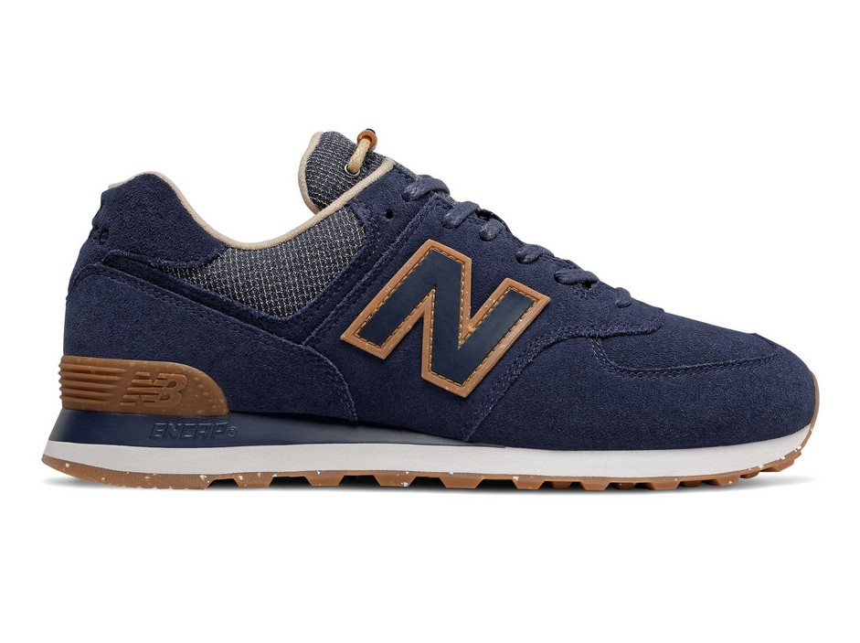 New Balance 574 Wabi Sabi Natural Indigo with Incense