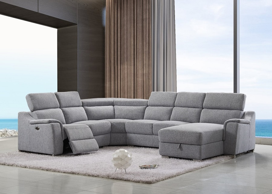 canape grand angle droit relax