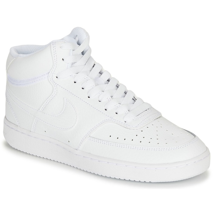 Nike COURT VISION MID Baskets Blanches