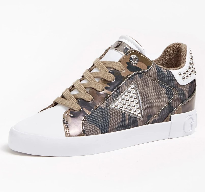 BASKETS PAYSIN CAMOUFLAGE Guess Camouflage