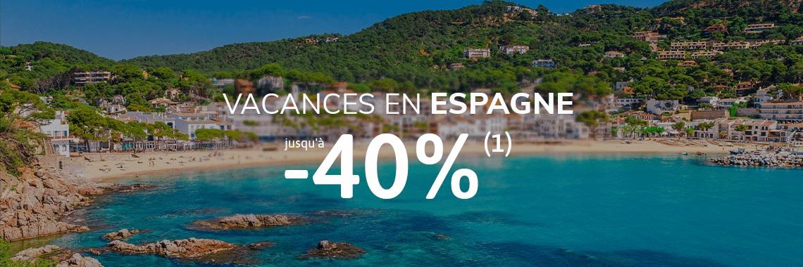 BONS PLANS CAMPING TOHAPI pas cher : Vacances en Espagne jusqu'à -40%