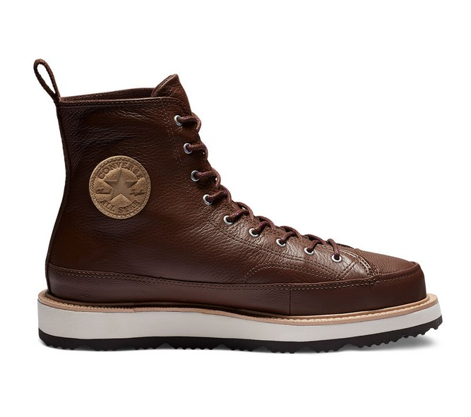 Chuck Taylor Crafted Boot montante chocolate/light fawn/black