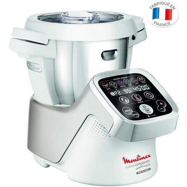 MOULINEX HF800A10 Robot cuiseur Companion 4,5 L Blanc - Cdiscount