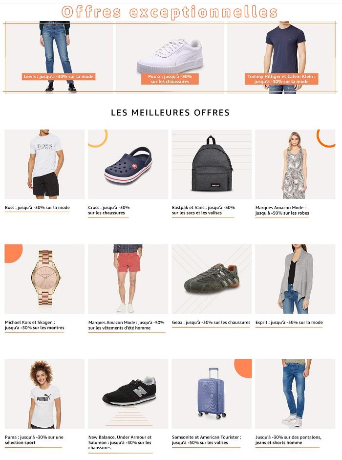 Soldes Amazon Fashion - Promotion Grandes Marques de Mode