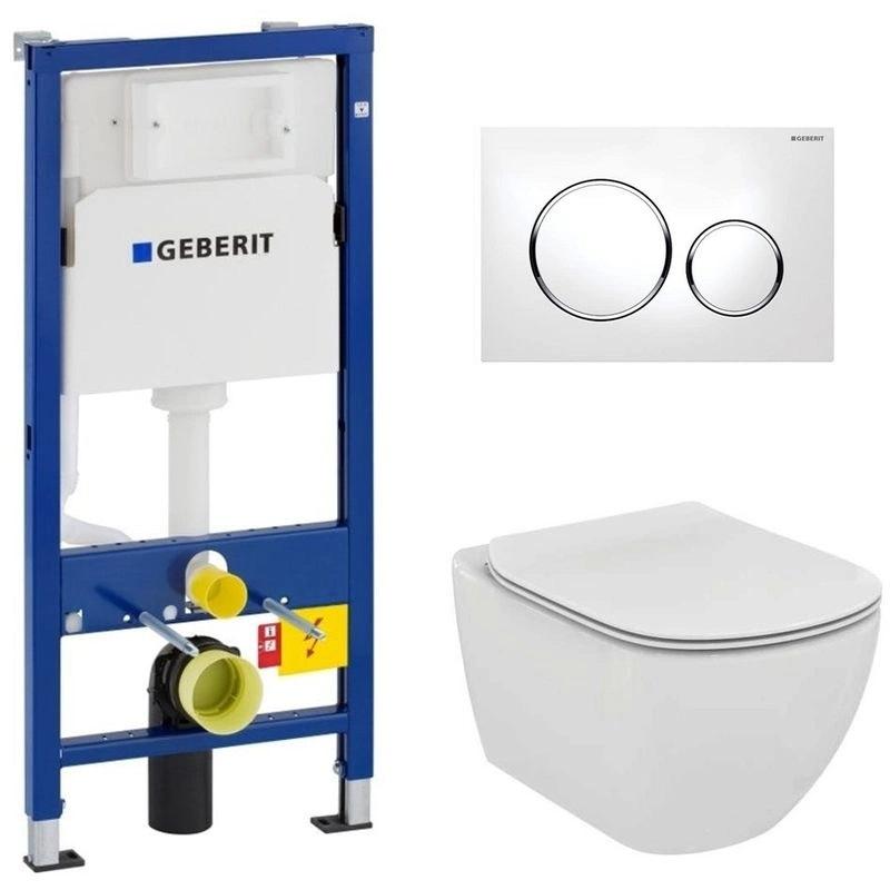 Geberit Pack WC Geberit Duofix + Cuvette Ideal