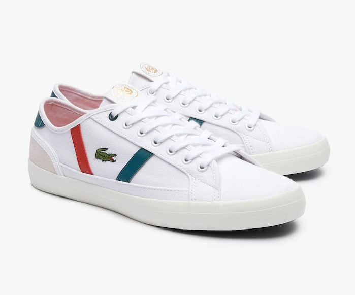 Sneakers Sideline Lacoste Edition Rolland Garros Blanc/Vert