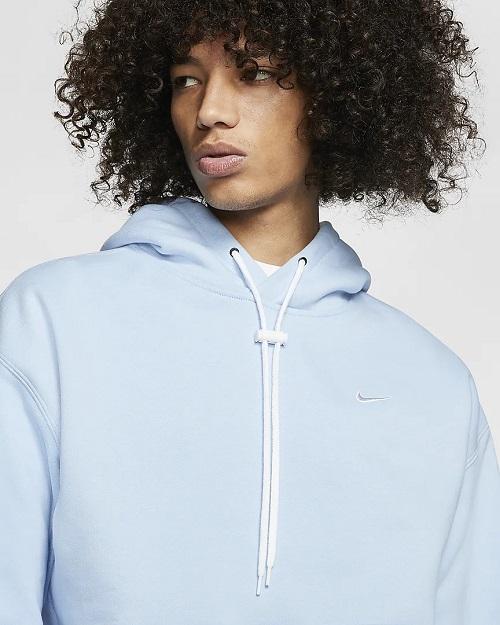 Nike Sportswear Sweat à capuche NikeLab Bleu Psychédélique