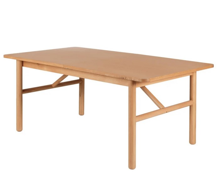 Table extensible GOST en chêne naturel 180 cm