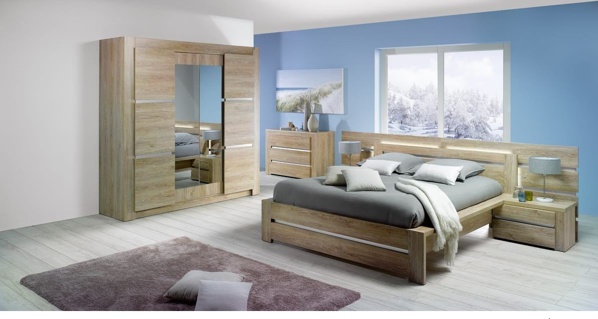 armoire 4 portes wood pas cher armoire auchan ventes pas. Black Bedroom Furniture Sets. Home Design Ideas