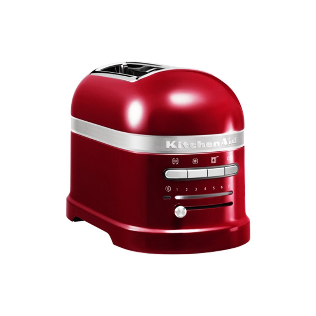 Grille pain ARTISAN 2 tranches rouge empire 5KMT2204 Kitchenaid