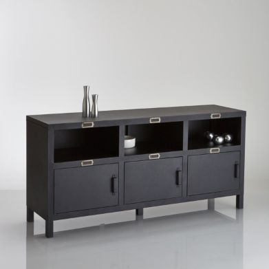 buffet la redoute buffet 3 portes acier hiba la redoute ventes pas. Black Bedroom Furniture Sets. Home Design Ideas