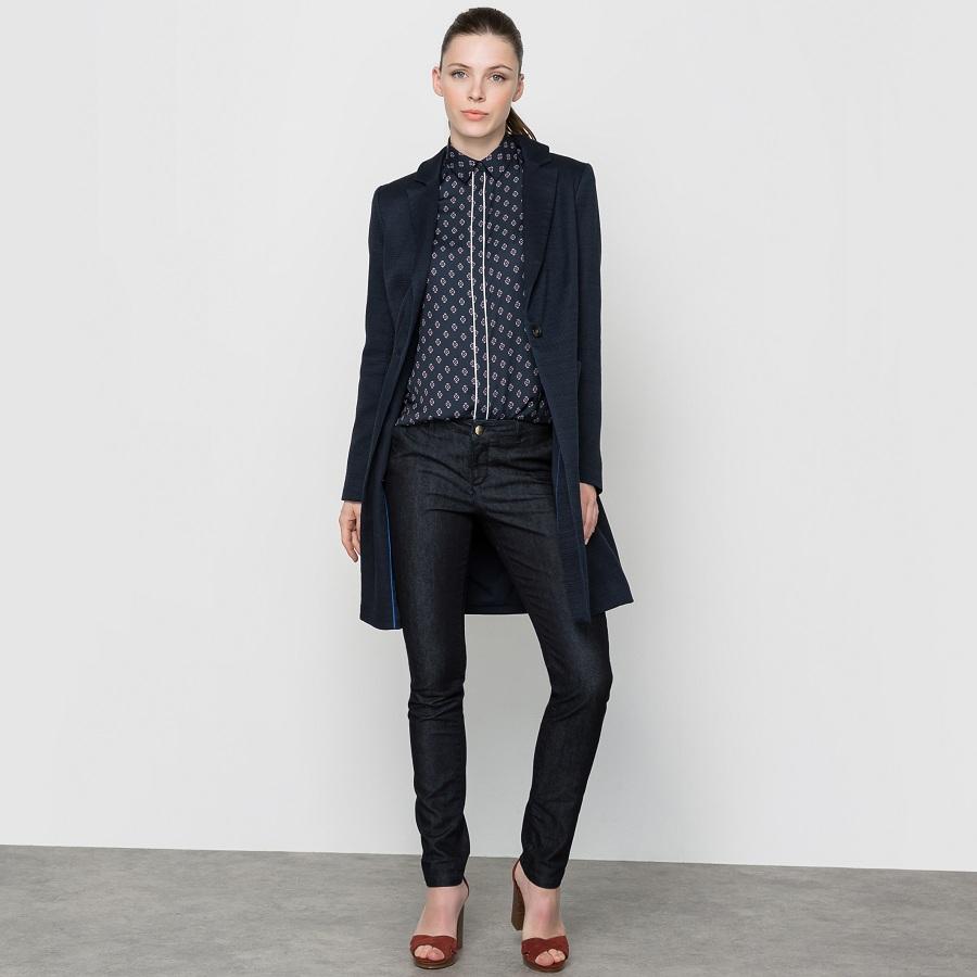 manteau manches longues laura clement manteau femme la. Black Bedroom Furniture Sets. Home Design Ideas