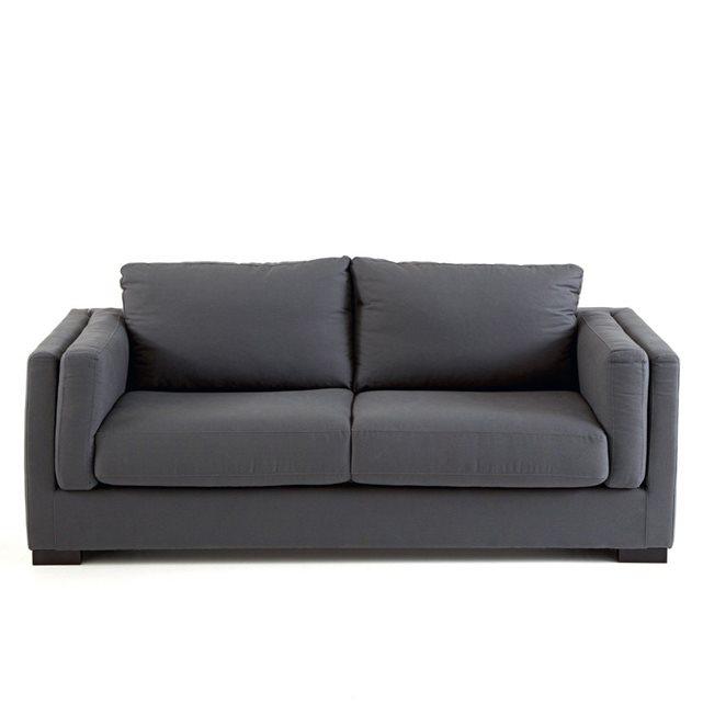 canap 2 ou 3 places fixe ardoize la redoute interieurs canap la redoute ventes pas. Black Bedroom Furniture Sets. Home Design Ideas