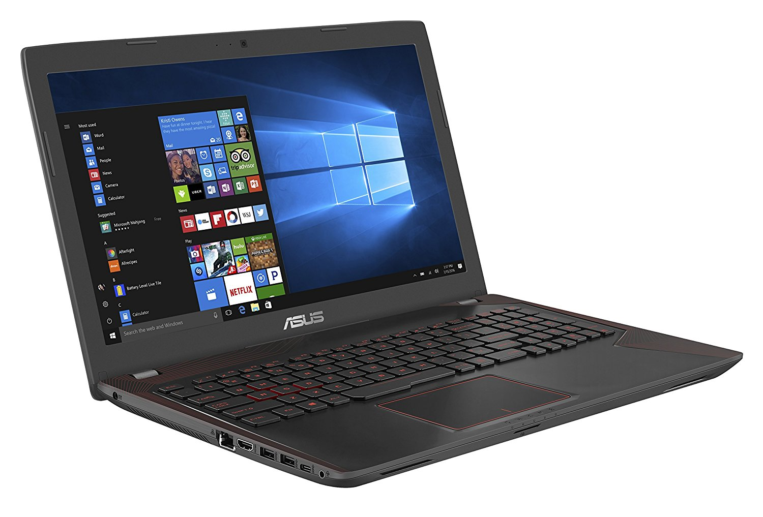 "Asus ROG FX553VE-DM1158T PC portable Gamer 15,6"" Full HD Noir"