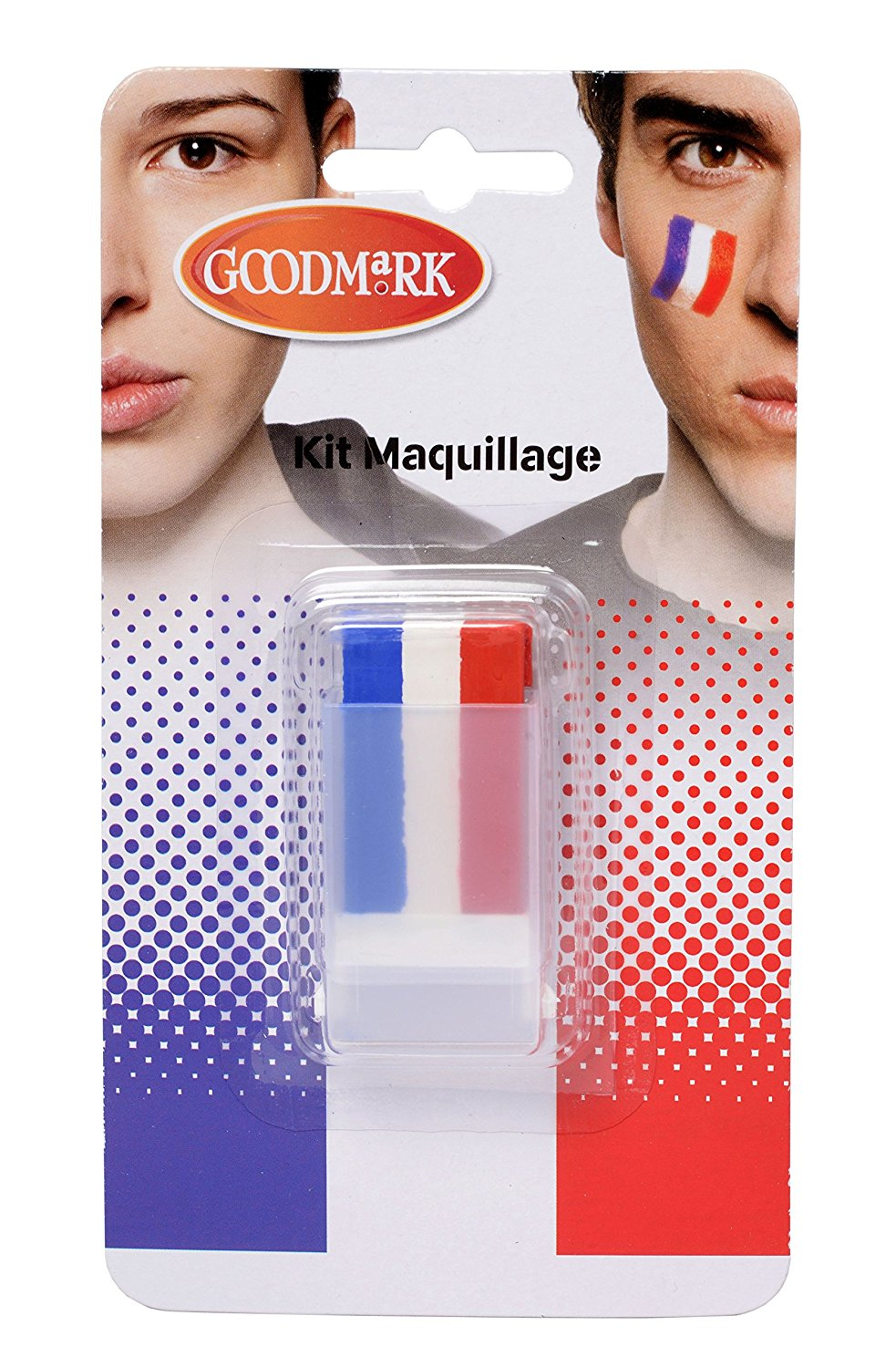 Maquillage Tricolore - Cesar Industrie - Cer02021071-Pf