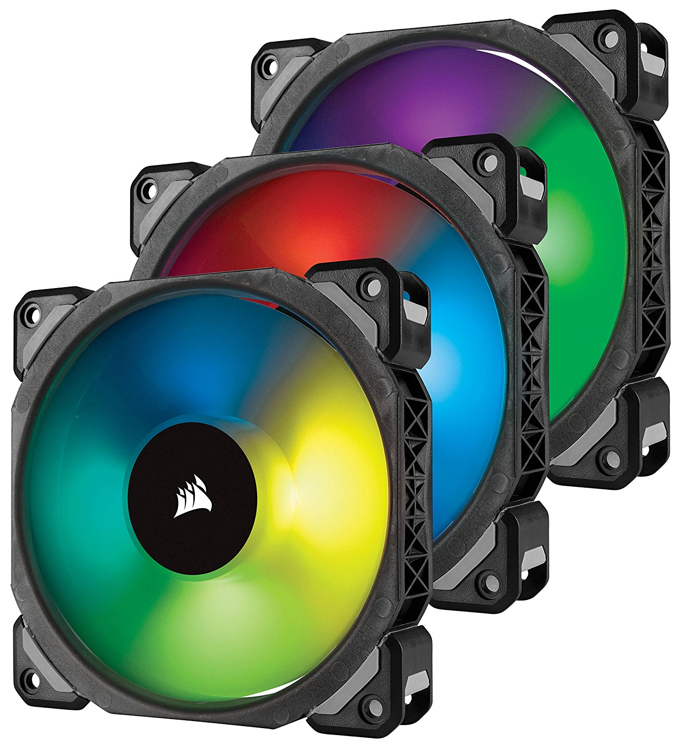 Lot de 3 Ventilateurs Corsair ML120 PRO RGB