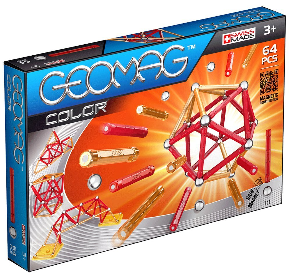 Jeu de Construction - Geomag - 253 - Color