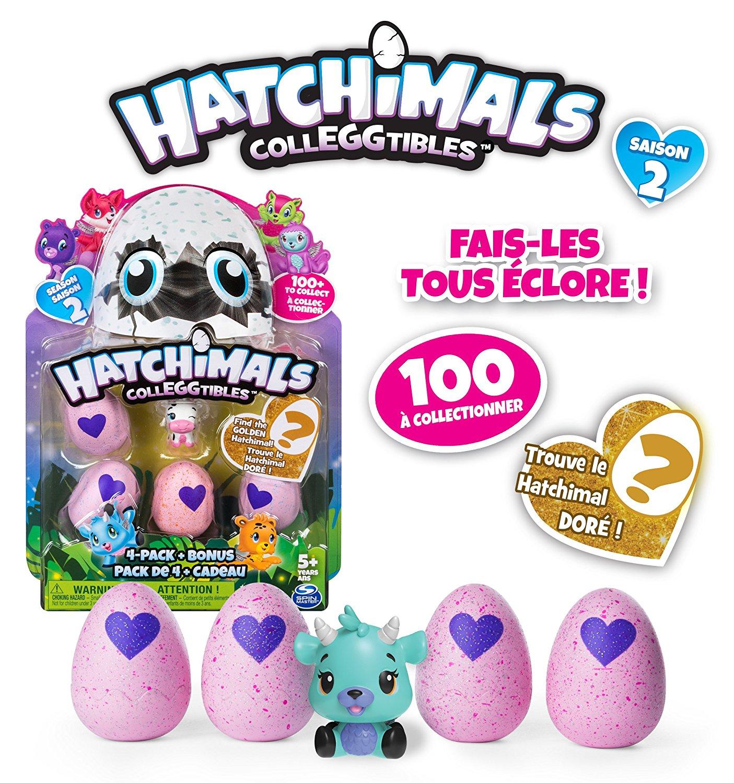 Calendrier De L Avent Hatchimals.Hatchimals Pack 4 Collegtibles Bonus Saison 2