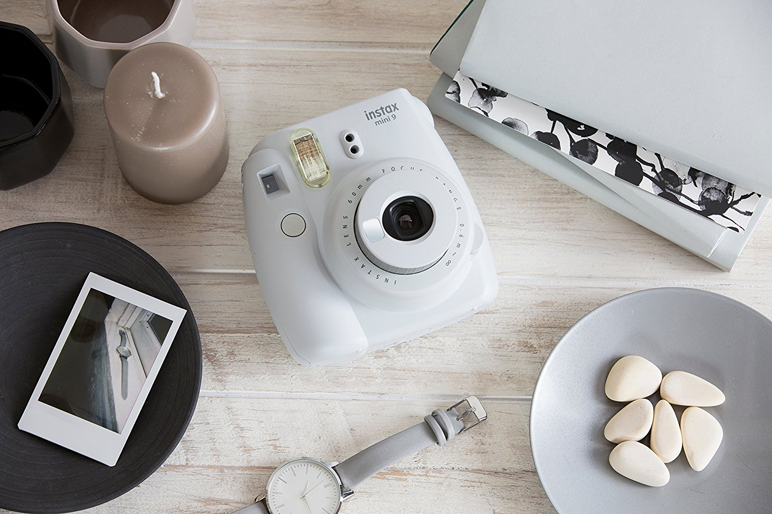 Fujifilm - Instax Mini 9 - smoky white