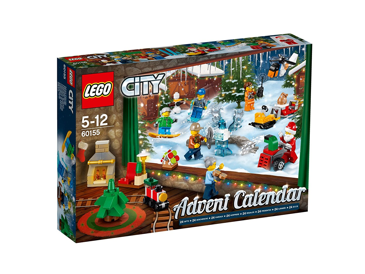 lego jeu de construction le calendrier de l 39 avent lego city jeu pas cher amazon ventes. Black Bedroom Furniture Sets. Home Design Ideas
