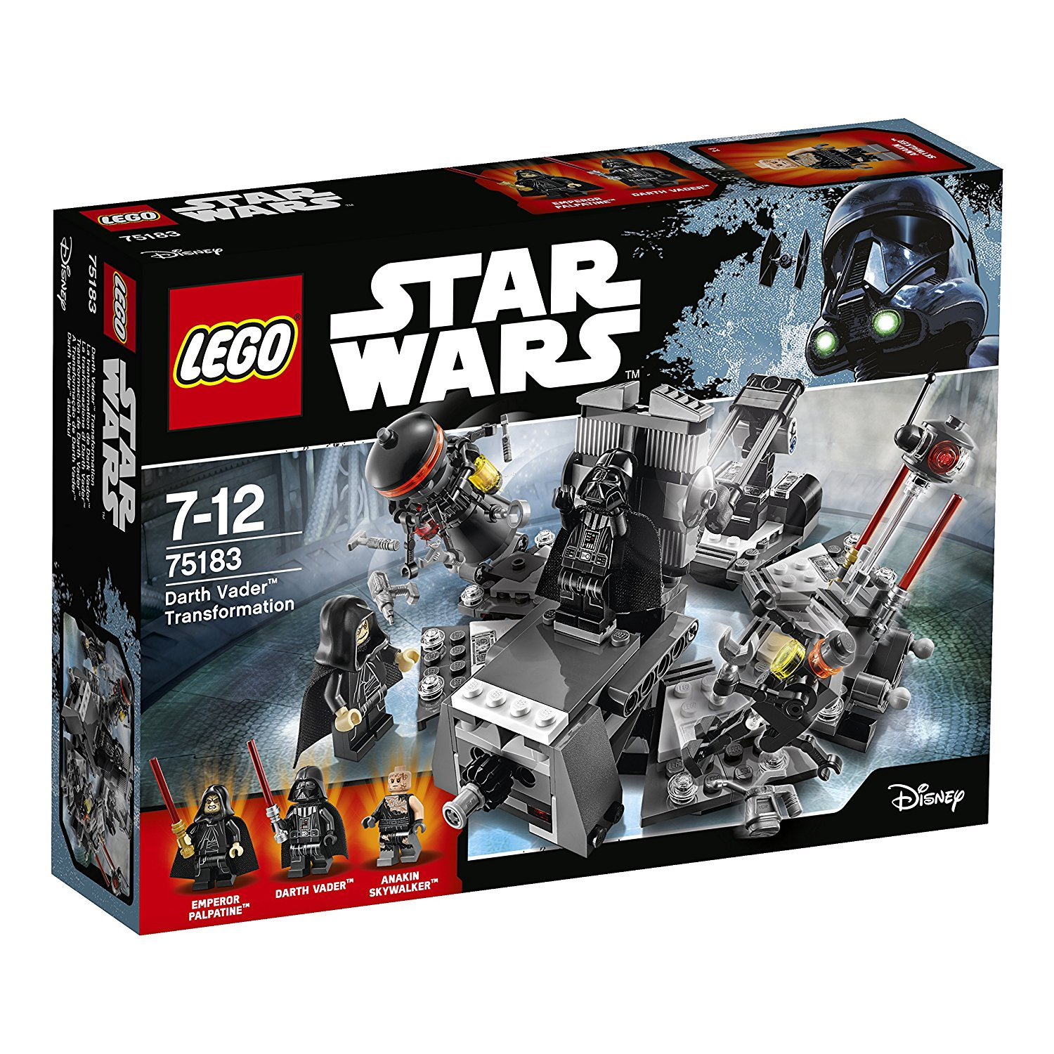 LEGO - Star Wars - La transformation de Dark Vador