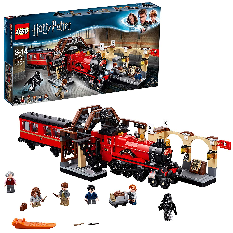 Potter Pas Jeu Harry De Construction Poudlard Lego Express Cher D9E2IH