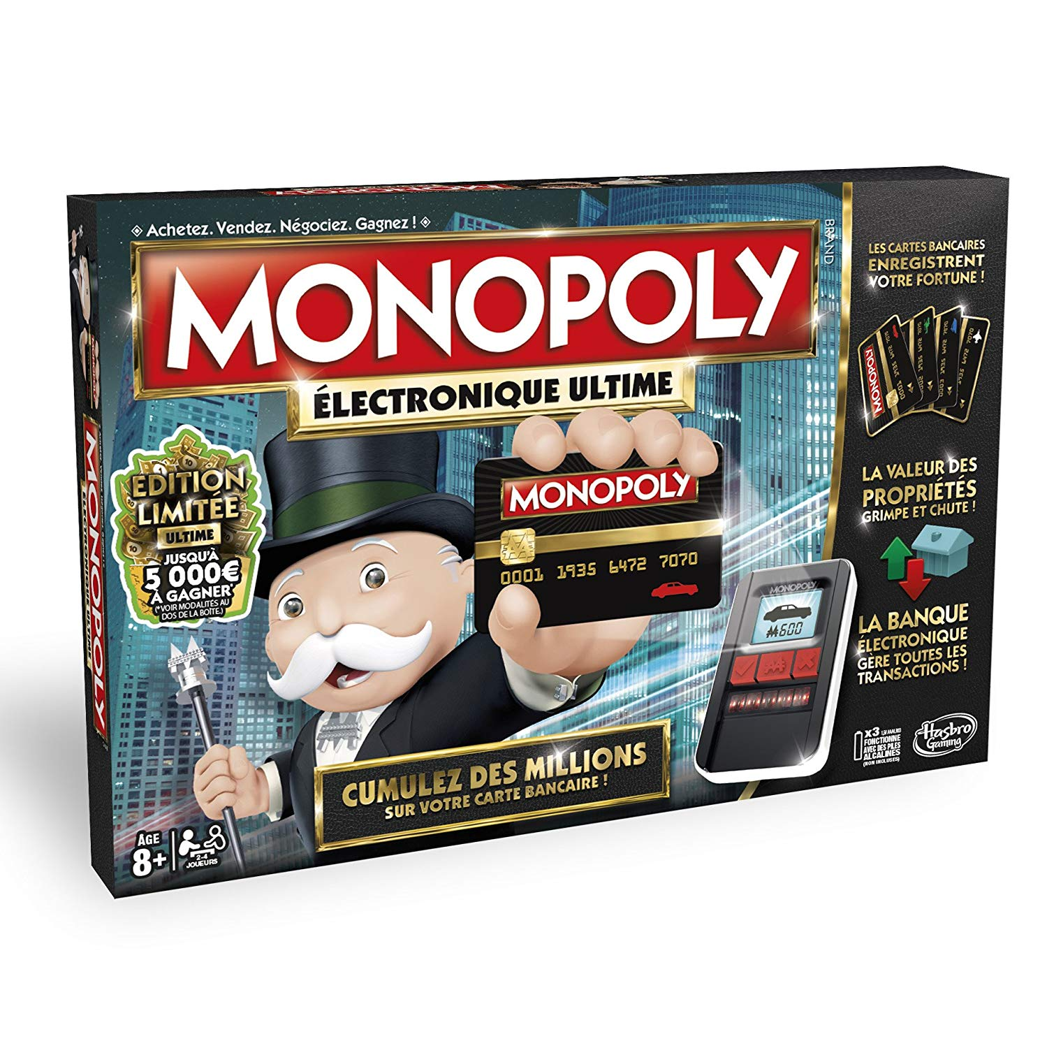Hasbro - Monopoly Electronique Ultime