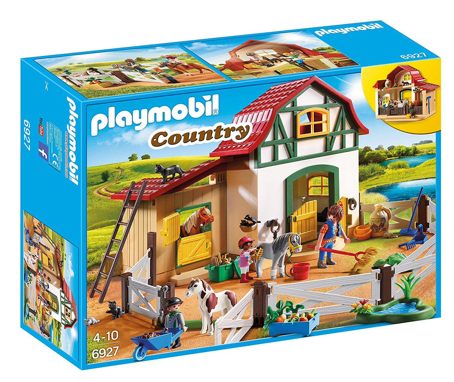 Playmobil - Jeu - Poney Club