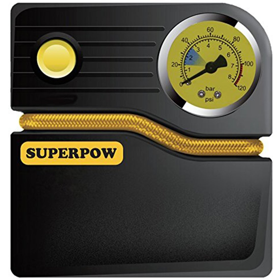 SUPERPOW 120PSI Compresseur d'Air Portable