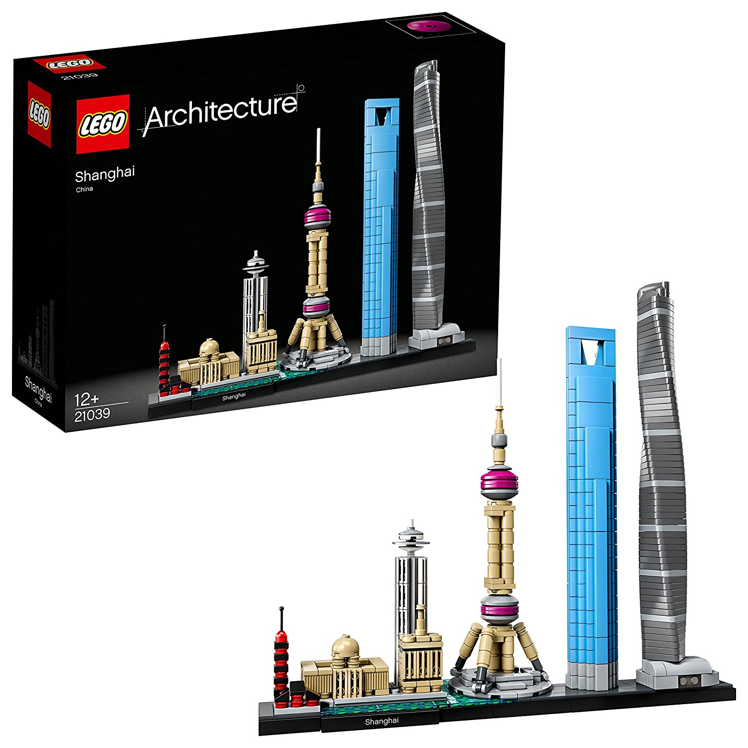 LEGO - Architecture - Jeu de Construction - Shanghai