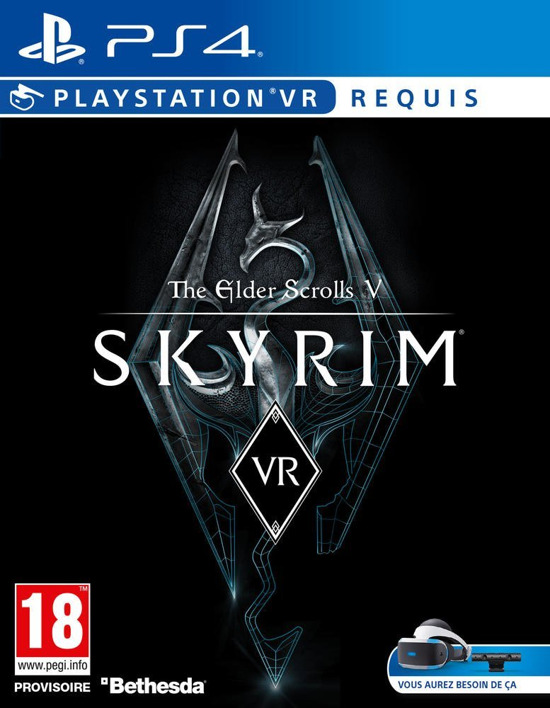 skyrim vr jeu vid o ps4 pas cher jeu vid o amazon ventes pas. Black Bedroom Furniture Sets. Home Design Ideas