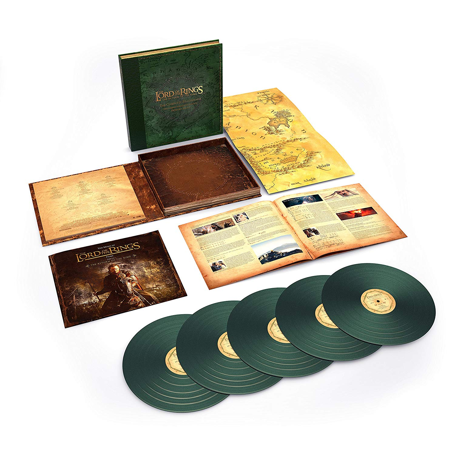 Coffret Vinyle The Lord Of The Rings: The return of the King