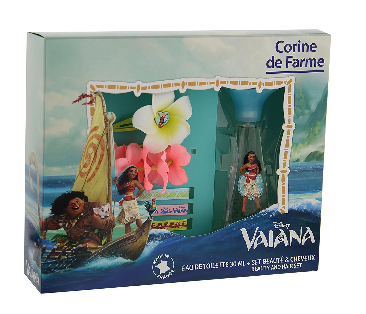 Corine de Farme - Coffret Disney Princesses - Vaiana