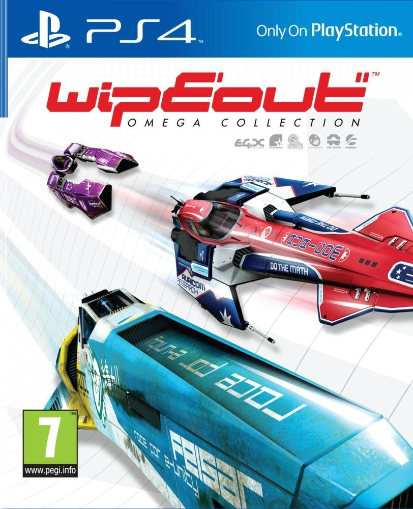Soldes Jeu vidéo PS4 Wipeout Omega Collection