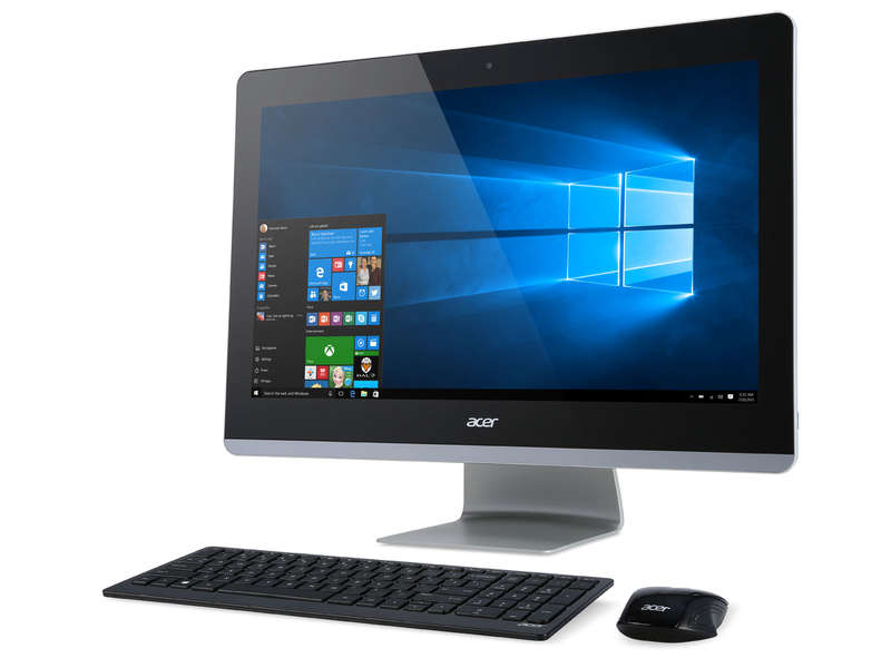 pc tout en un acer z3 711 001 pc tout en un pas cher conforama ventes pas. Black Bedroom Furniture Sets. Home Design Ideas