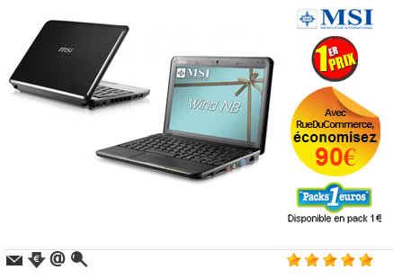 MSI  Netbook MSI Wind U90X-020