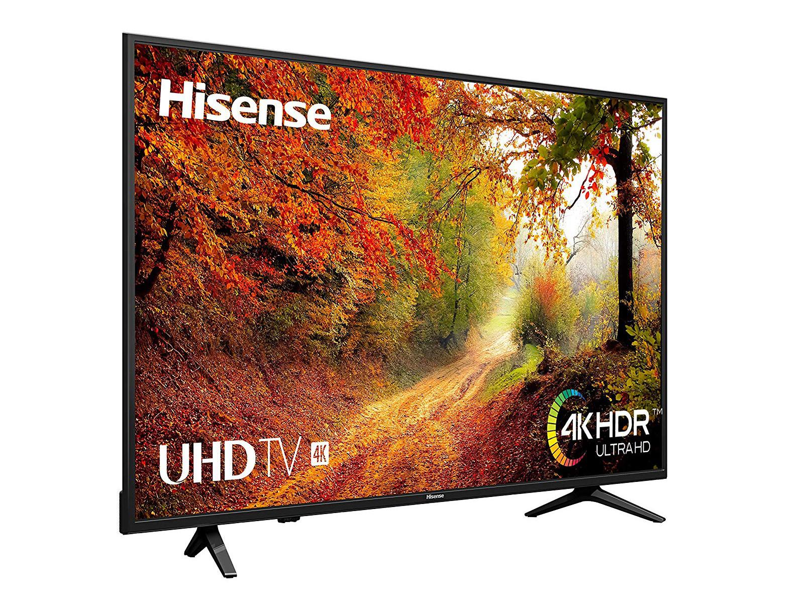 Une TV 4K HiSense de 50 pouces à 300 € (H50A6140)