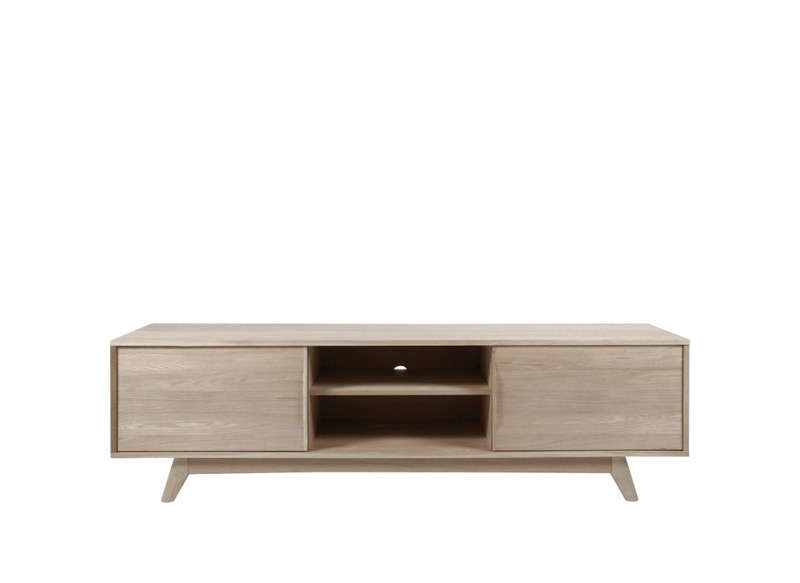 Meuble tv scandinave bois marly meuble tv achatdesign for Meuble tv pas cher but