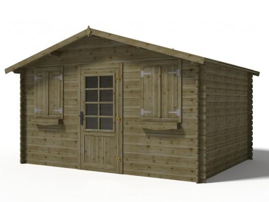 abri de jardin jotea en bois abri de jardin vente unique ventes pas. Black Bedroom Furniture Sets. Home Design Ideas