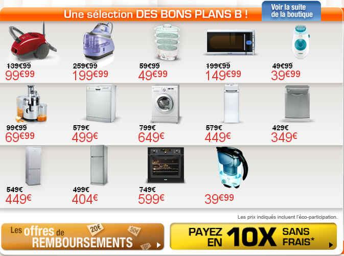 boulanger bons plans electromenager reduction jusqu 39 40. Black Bedroom Furniture Sets. Home Design Ideas