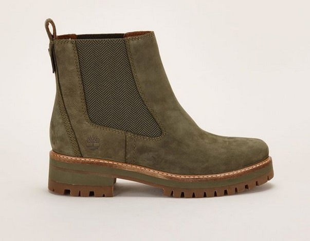 Timberland Boots élastiquées vertes Courmayeur Valley Ch