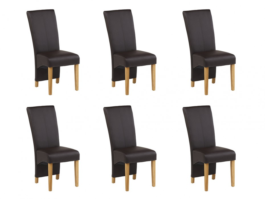 lot de 6 chaises imperator pas cher chaises vente unique. Black Bedroom Furniture Sets. Home Design Ideas