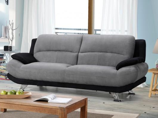 canap 3 places en microfibre musko canap vente unique. Black Bedroom Furniture Sets. Home Design Ideas