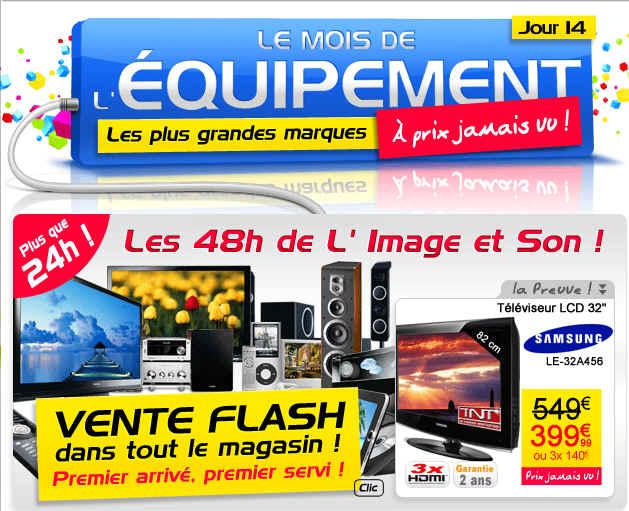 Cdiscount 48h hi fi et vid o prix discount vente flash - Discount vente flash ...