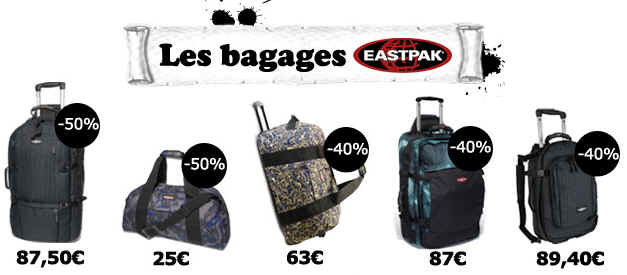 eastpak sacs travers
