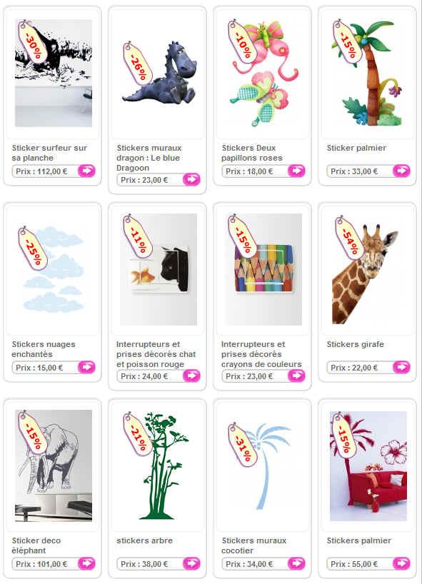 Les stickers iDzif.com : des idées de déco pour toute la maison et sur toute surface