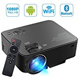 SEGURO Smart Android Projecteur 1080P Full HD