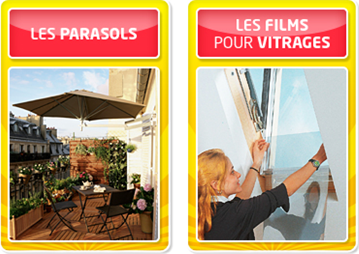 Leroy Merlin - 15% de réduction sur les stores, tonnelles, pergolas et parasols sur Leroymerlin.fr