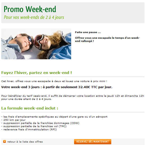 National Citer Promo Week end
